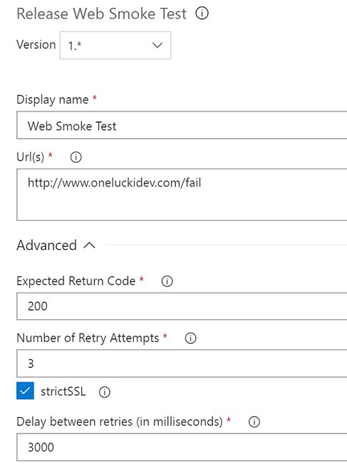 Smoke web test task preview detail
